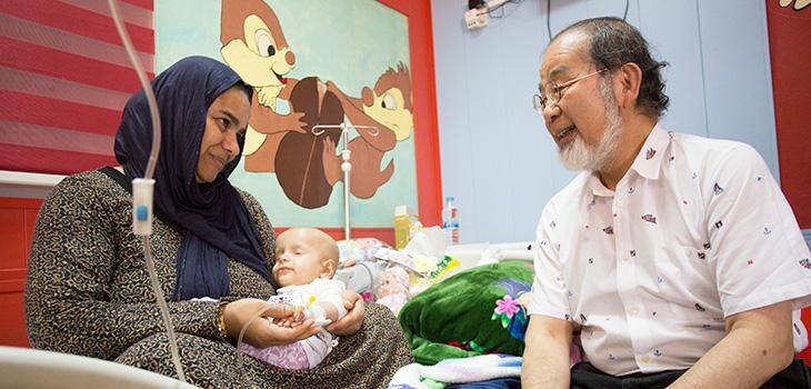 イラク小児がん支援